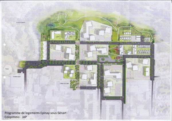 19 maisons individuelles - Quartier Cinéastes - Epinay-sous-Sénart - CoopImmo