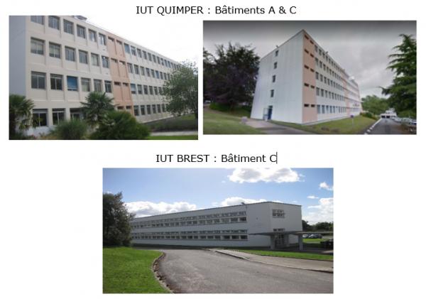 Rénovation énergétique des IUT de QUIMPER et BREST