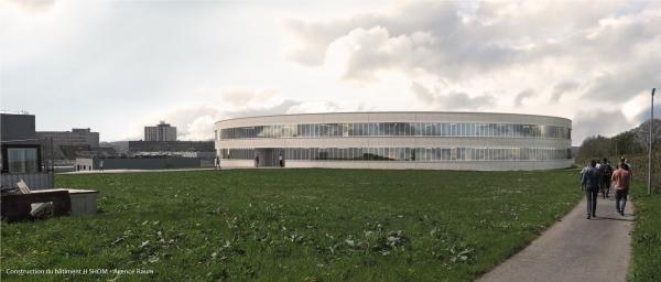 Construction bât H - SHOM - Agence Raum