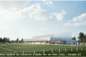 Réhabilitation du complexe sportif du Gouerch à Belle-Ile-en-Mer (56)