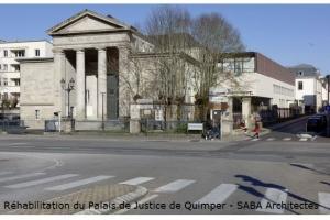 Réhabilitation du Palais de Justice de Quimper (29)