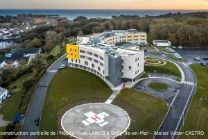 Reconstruction partielle de l'Hôpital Yves Lanco à Belle-Ile-en-Mer (56)