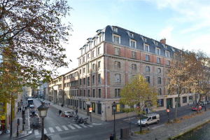 Restructuration lourde en logements et commerces 45-49 quai Valmy à Paris 10 - RIVP